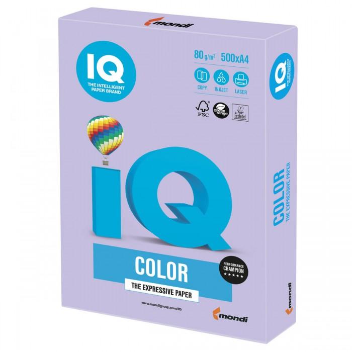 IQ Color Бумага цветная Тренд А4 500 листов