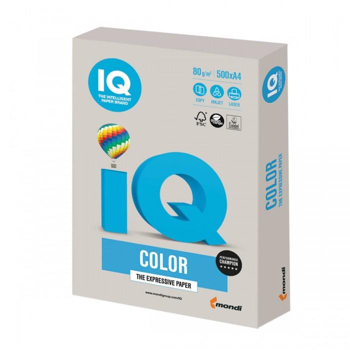 Канцелярия IQ Бумага цветная Тренд А4 500 листов