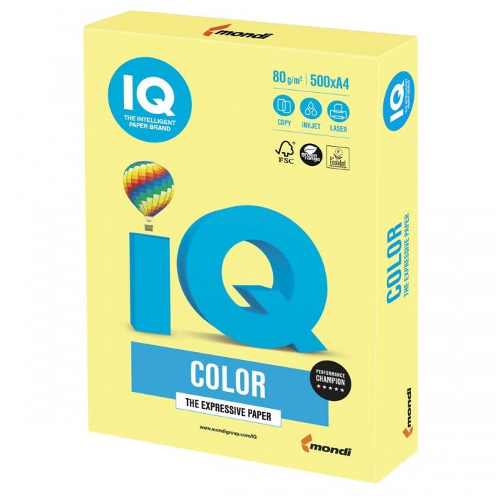 IQ Color Бумага цветная Умеренно-интенсив А4 500 листов