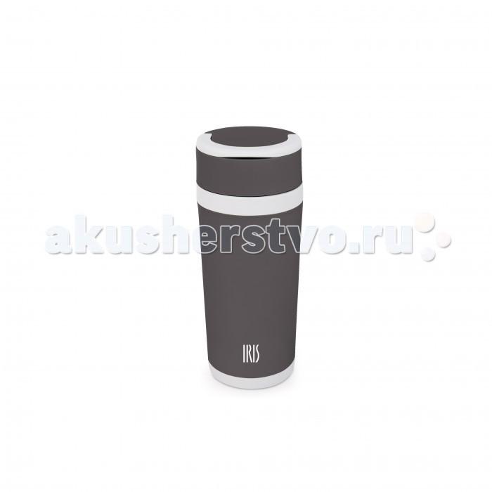 Аксессуары для кормления , Термосы Iris Barcelona Фляжка стеклянная в пластиковом корпусе 450 мл арт: 442424 -  Термосы