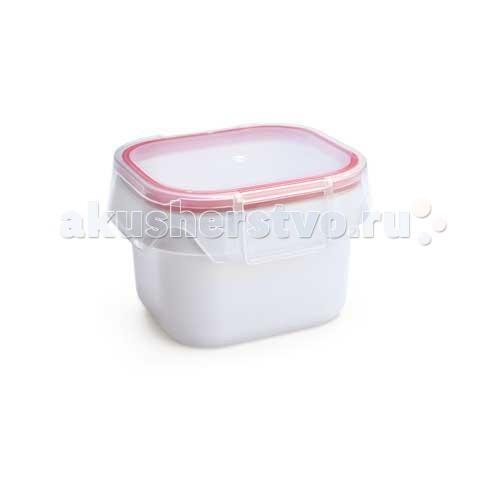 Контейнеры Iris Barcelona Пластиковый контейнер 450 мл ополаскиватель для посудомоечной машины eco max гипоаллергенный 450 мл