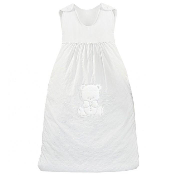 Спальный конверт Italbaby Amore 110 смAmore 110 смСпальный конверт Italbaby Amore 110 см - это удобный теплый спальник который понравится Вам и вашему малышу.   Особенности: Конверт легко фиксируется на плечах ребенка с помощью лямок на кнопках Благодаря молнии (сбоку и на нижней части) малыша можно быстро разместить в спальном мешке  Может использоваться как совместно с одеялом, так и вместо него Декор: аппликация в виде мишки, ткань с набивным растительным узором. Материалы:  покрытие: 100% хлопок наполнение: фиброволокно размер конверта: 90 х 110 см<br>