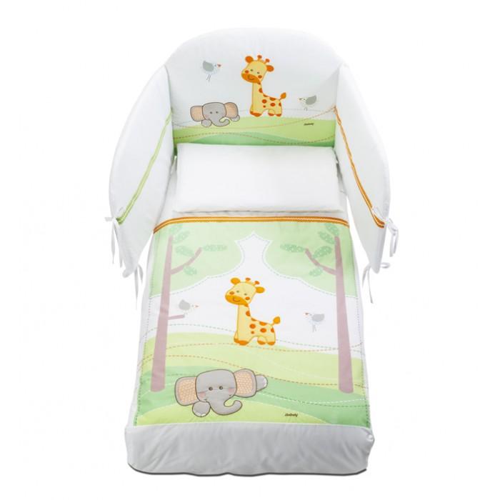 Постельные принадлежности , Комплекты в кроватку Italbaby Gina (5 предметов) арт: 381084 -  Комплекты в кроватку