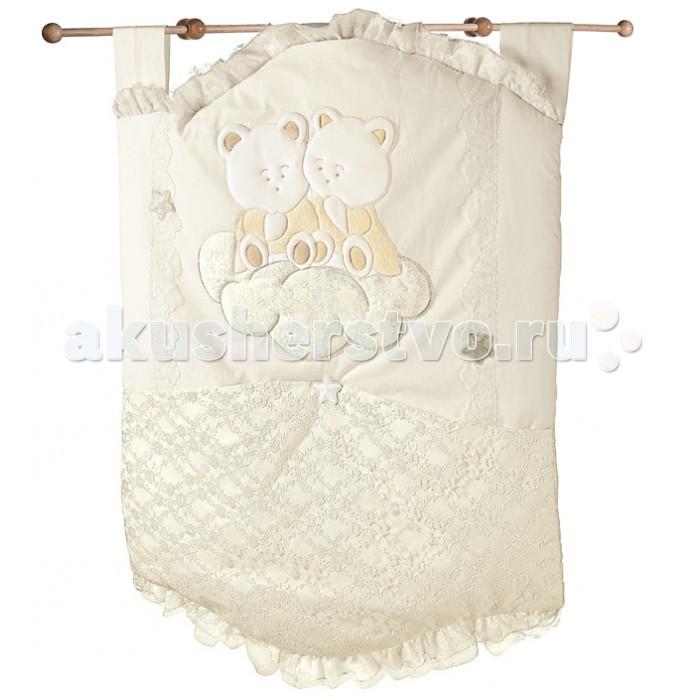 Italbaby Карман для белья AngiolettiКарман для белья AngiolettiItalbaby Карман для белья Angioletti для хранения необходимых детских мелочей и пижамы.   Текстильный карман для пижамы и белья легко крепится к рейкам кроватки благодаря удобны лентам на липучках.   Уход: можно стирать в стиральной машине в режиме деликатной стирки (при температуре 30&#186;C) или вручную.<br>