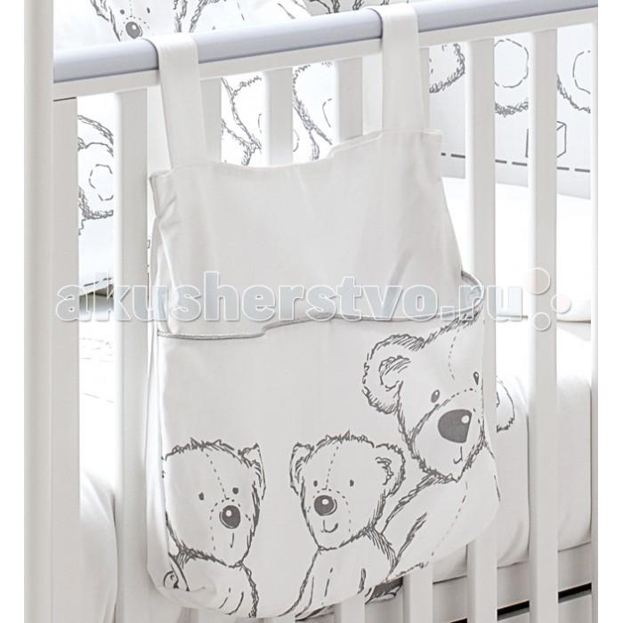 Карманы и панно Italbaby Карман для пижамы Teddy Toys, Карманы и панно - артикул:387159
