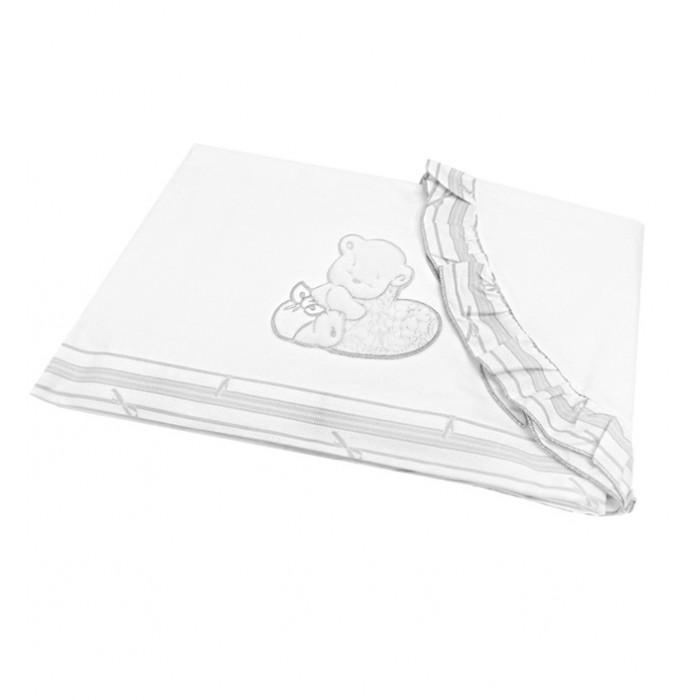 Постельное белье Italbaby Комплект из 3 предметов для кроватки Happy Love Oval