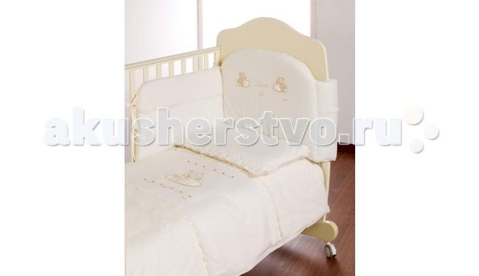 Комплекты в кроватку Italbaby Love (5 предметов) корзина для переноски italbaby peluche крем 230 0007 6