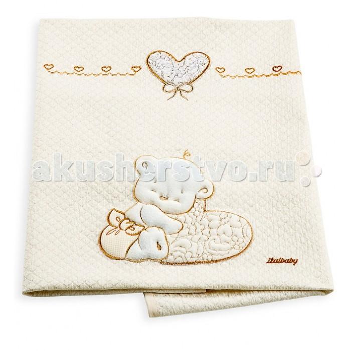 Пледы Italbaby Love пике 110х150 см кроватка italbaby love