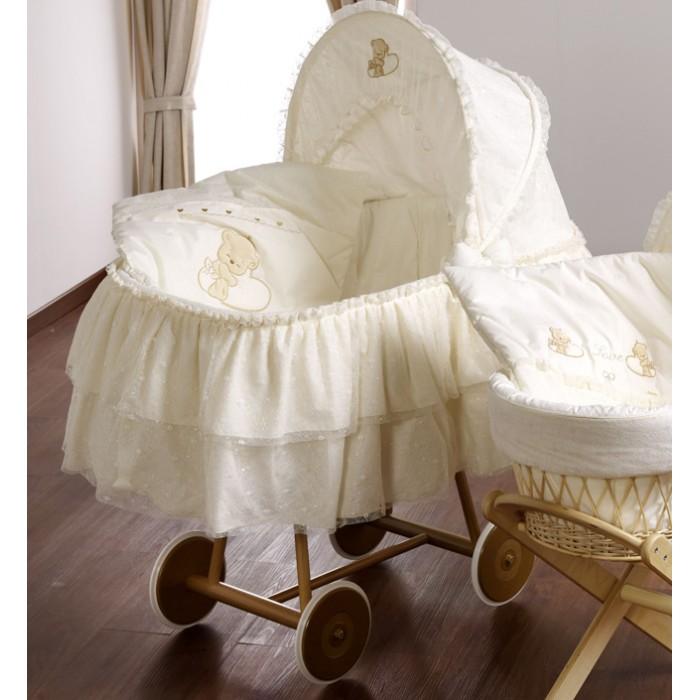 Детская мебель , Колыбели Italbaby Love с капюшоном арт: 384044 -  Колыбели