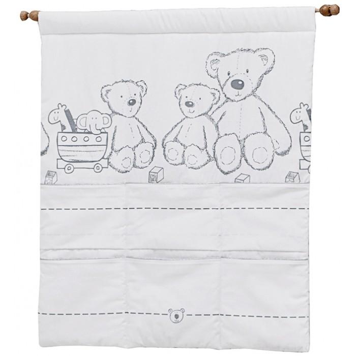 Постельные принадлежности , Карманы и панно Italbaby Настенный карман Teddy Toys арт: 387119 -  Карманы и панно