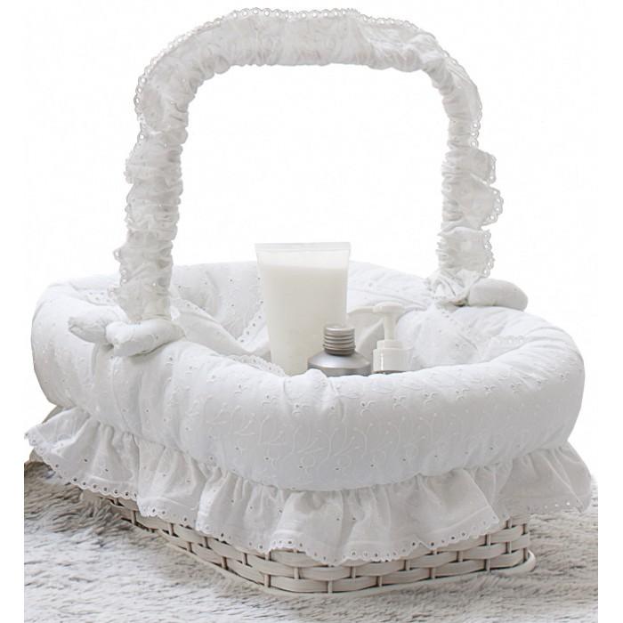Аксессуары для детской комнаты Italbaby Плетеная корзина Amore корзина italbaby плетеная корзина romantic