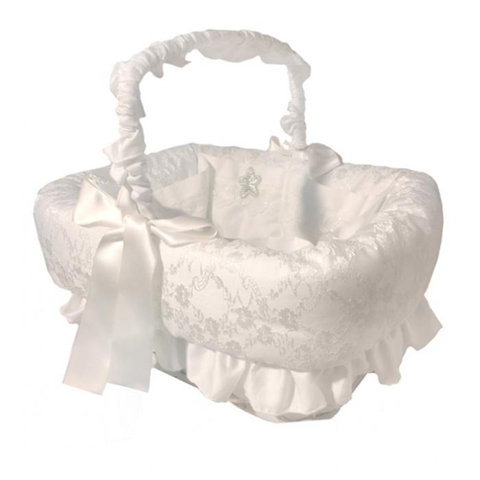 Аксессуары для детской комнаты Italbaby Плетеная корзина Angioletti прямоугольная корзина italbaby плетеная корзина tulipano голубая