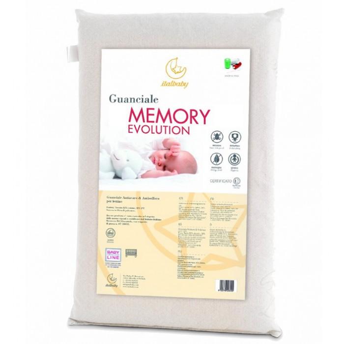 Подушки для малыша Italbaby Подушка Memory Evolution 38х58, Подушки для малыша - артикул:387809