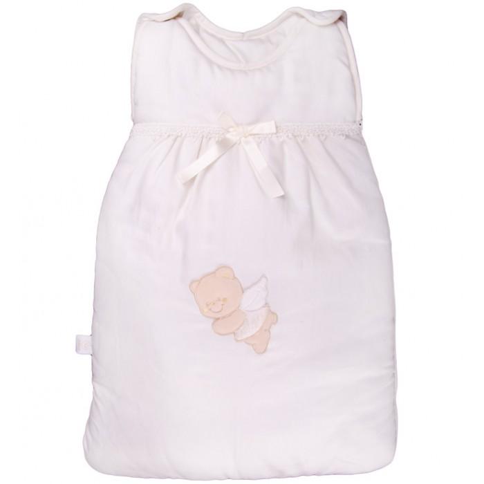 Спальный конверт Italbaby Sweet AngelSweet AngelСпальный конверт Italbaby Sweet Angel - это удобный теплый спальник который понравится Вам и вашему малышу.   Особенности: Конверт легко фиксируется на плечах ребенка с помощью лямок на кнопках Благодаря молнии (сбоку и на нижней части) малыша можно быстро разместить в спальном мешке  Может использоваться как совместно с одеялом, так и вместо него Декор: аппликация в виде мишки-ангела, кружева, бант. Материалы:  покрытие: 100% хлопок наполнение: фиброволокно размер конверта: 40 х 70 см<br>