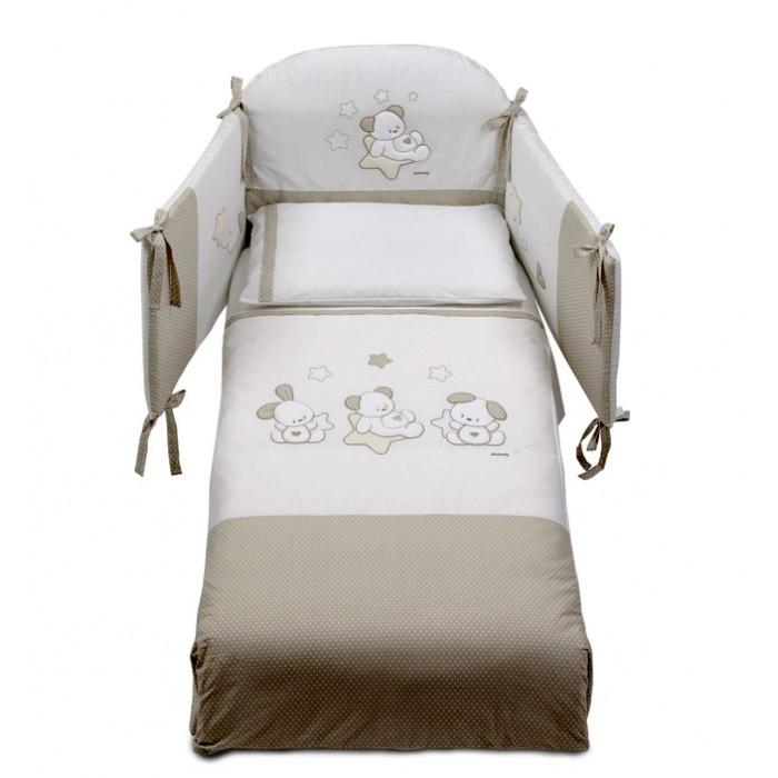 Фото - Комплекты в кроватку Italbaby Sweet Star (5 предметов) детские кроватки italbaby sweet star