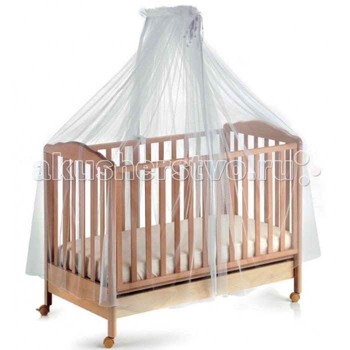 Балдахин для кроватки Italbaby тюлевыйтюлевыйКруговой тюлевый полог на кровать.  При изготовлении используются только натуральные безопасные материалы. Изделия выполнены по специальной технологии, гарантирующей безопасность и уют ребёнку.   Основные характеристики:  - элегантный дизайн  - струящееся роскошное кружево создает ощущение легкости и воздушности  - защитит Вашего малыша от насекомых ветра и яркого света  - изящный балдахин станет изысканным украшением детской кроватки и комнаты  стирается в щадящем режиме<br>