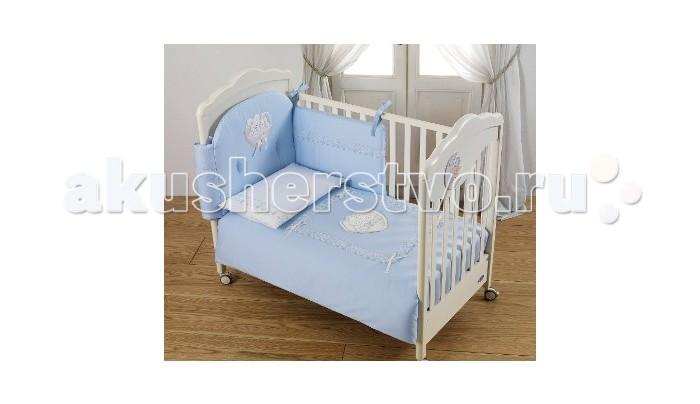 Комплекты в кроватку Italbaby Mon Coeur (5 предметов) постельный сет italbaby teddy крем 100 0019 6