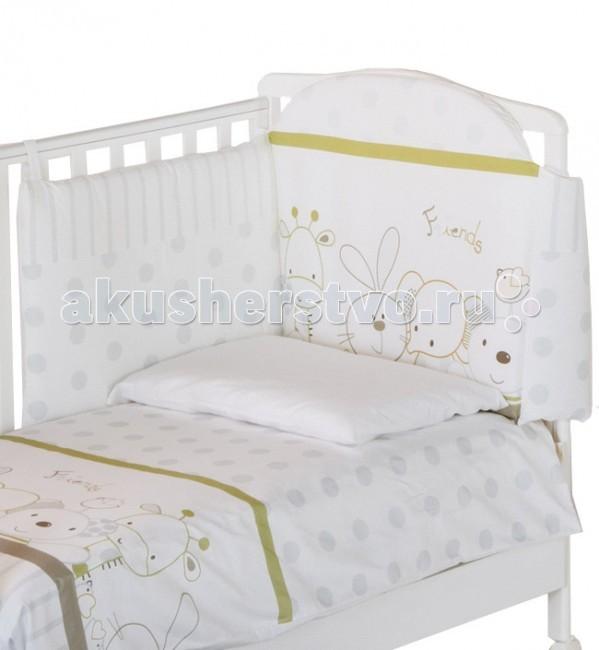 Комплекты в кроватку Italbaby Rabbit (5 предметов) italbaby комплект постельного белья italbaby bunny 5 предметов
