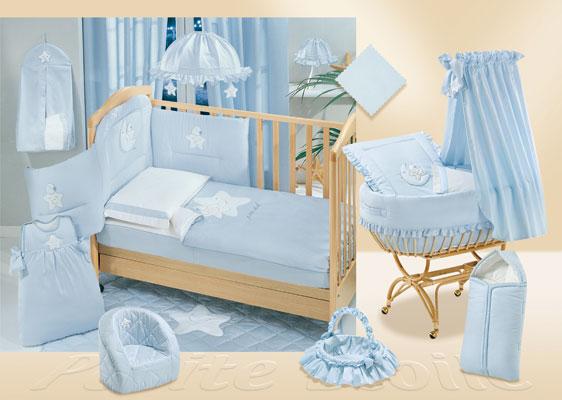 Комплекты в кроватку Italbaby Petite Etoile 140х70 (5 предметов) нижнее бельё