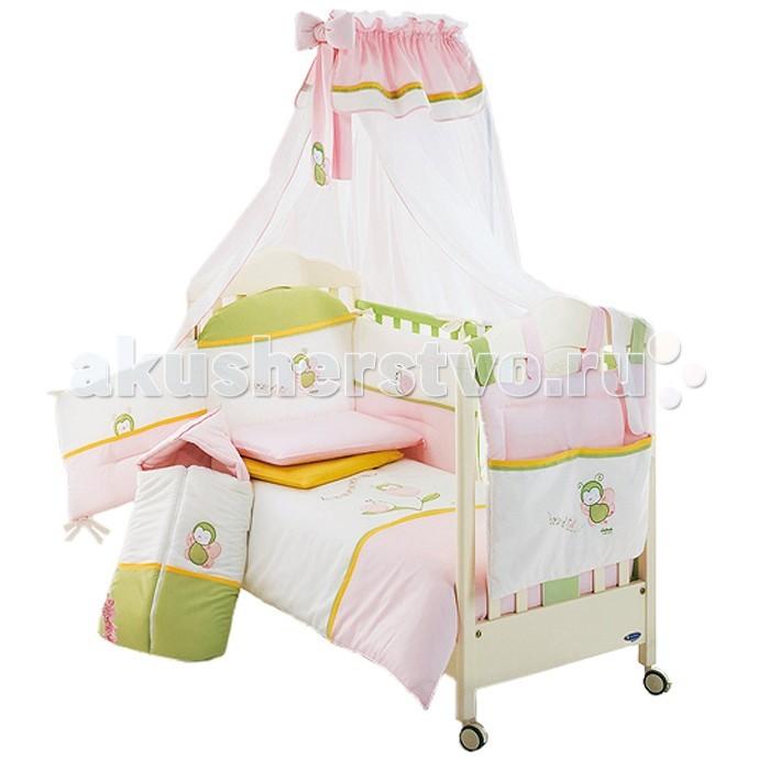 Комплекты в кроватку Italbaby Tulipano (5 предметов) italbaby комплект постельного белья italbaby bunny 5 предметов