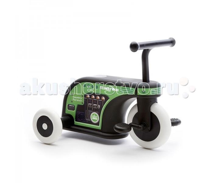Велосипед трехколесный Italtrike La Cosa 2La Cosa 2Трехколесный велосипед-каталка Italtrike La Cosa 2 - для юных ценителей прекрасного. Прочный корпус с плавными линиями держится на трех колесах из каучука, не знающих себе равных в износостойкости. педали выполнены без углов, что исключает травмирование детских ножек. В задней части сиденья, расположен багажник.  Французский дизайнер Alain Pineau учел все пожелания мам и создал стильный транспорт с применением передовых технологий. Колеса - мягкий белый каучук - очень дорогая технология. Колеса никогда не проколятся и не сотрутся. Педали можно снять, поставить заглушки и получается просто каталка. Багажник расположен в задней части сиденья - очень вместительный и удобный. Ваш малыш это обязательно оценит. Рекомендуется для детей от 12 месяцев, но итальянские специалисты говорят, что такая каталка необходима, когда малыш учится ходить... он будет опираться на нее и следовать за ней повсюду.  Не ищите компромисс между лаконичностью и дизайном. 3-х колесная каталка La Cosa 2 воплотила в себе все это.  Характеристика: прочные каучуковые колеса современный дизайн универсальная модель, трансформирующаяся в каталку эргономичная ручка багажник для мелочей  Габариты: размеры велосипеда: 52х38х31 см вес: 3 кг максимальная нагрузка: 15 кг<br>