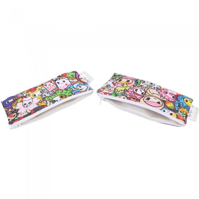 Itzy Ritzy Комплект сумочек для снеков Snack Happens Mini 2 шт. от Itzy Ritzy