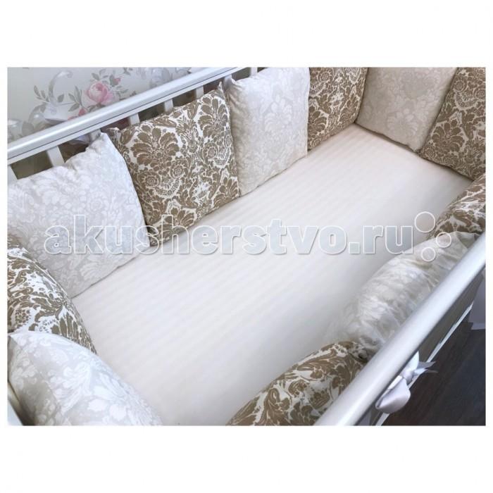 Бортики в кроватку Ivanna Studio Дамаск, Бортики в кроватку - артикул:561311