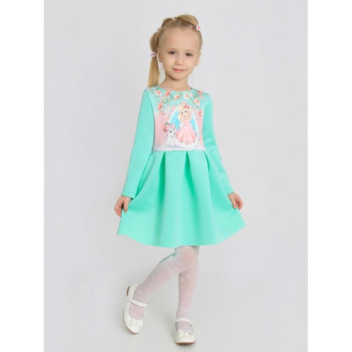 Ивашка Платье для девочки с шелкографией Жозефина-2 фото