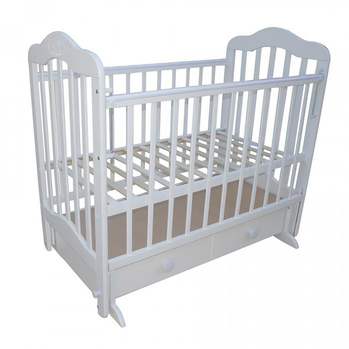 Детская кроватка Ивашка Мой Малыш 03 (маятник поперечный)