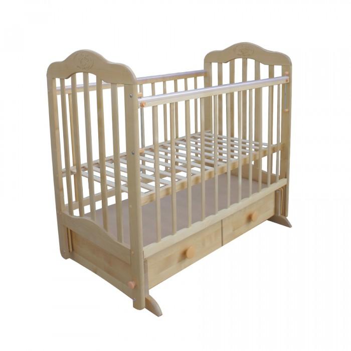 Детские кроватки Ивашка Мой Малыш 03 (маятник поперечный) обычная кроватка ивашка мой малыш 8 темный