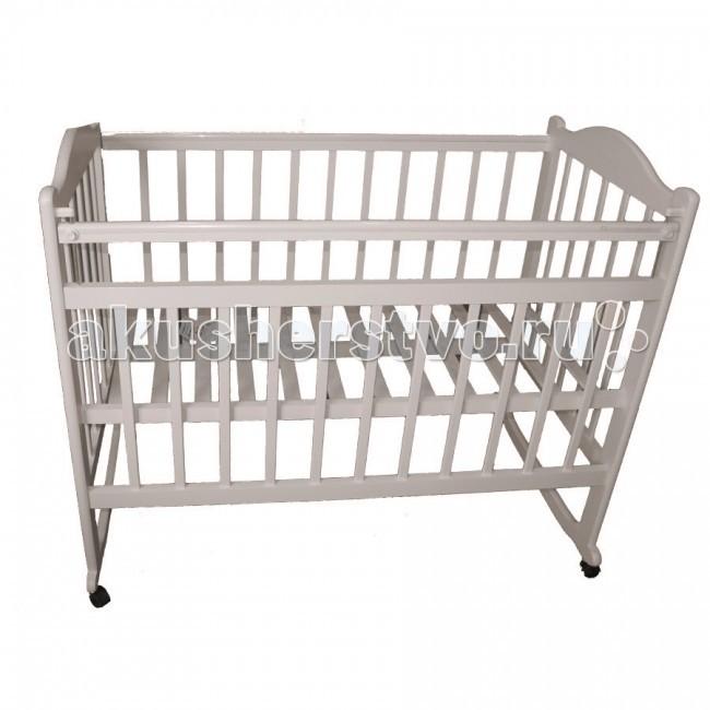 Детские кроватки Ивашка Мой малыш 4 колесо-качалка обычная кроватка ивашка мой малыш 8 темный