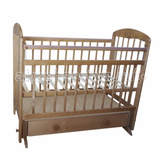 Купить Детские кроватки, Детская кроватка Ивашка Мой малыш 8 маятник поперечный
