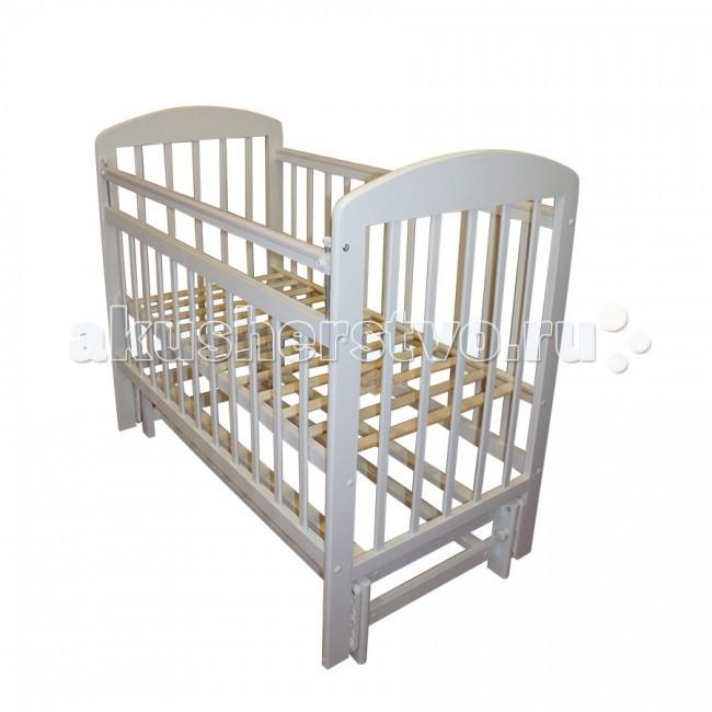 Детская кроватка Ивашка Мой малыш 9 маятник продольный