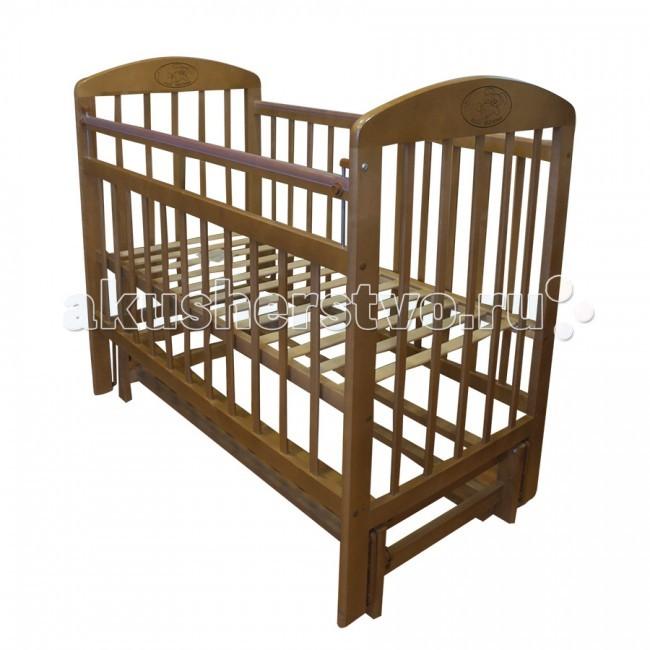 Детские кроватки Ивашка Мой малыш 9 маятник продольный обычная кроватка ивашка мой малыш 8 темный