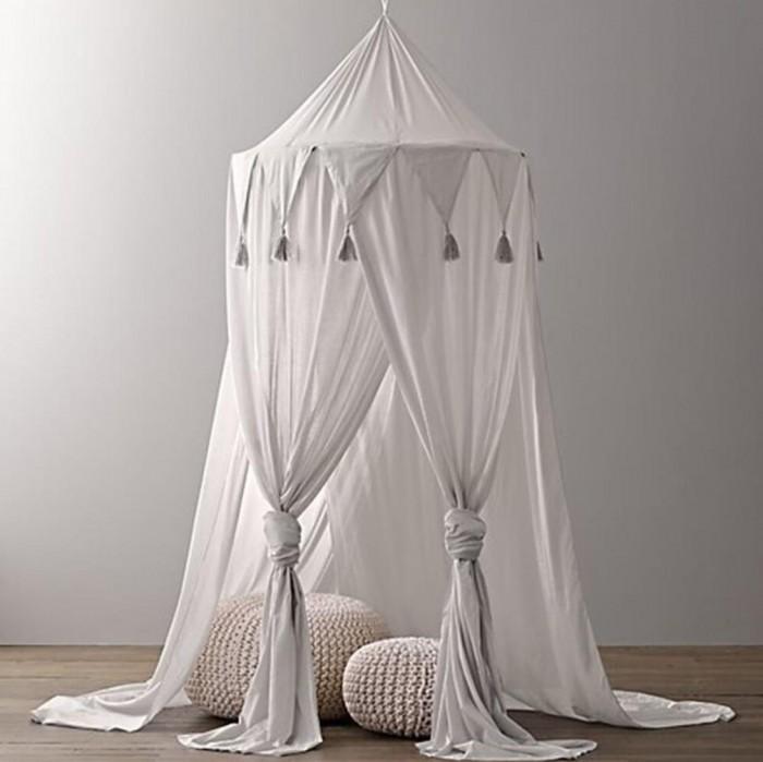 Балдахин для кроватки Joki Home Шатер из полиэстера с кисточками