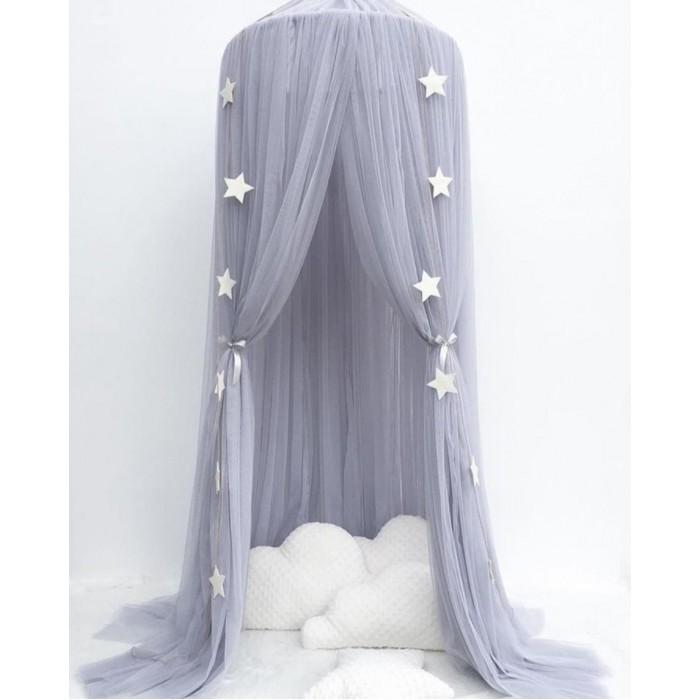 Балдахин для кроватки Joki Home Шатер из вуали