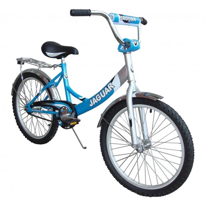 Велосипед двухколесный Jaguar MS-202MS-202Велосипед двухколесный Jaguar MS-202 поможет прекрасно провести время, а также мышцы малыша будут в тонусе. Рекомендовано детям от 6 до 11-ти лет.  Особенности: размер колеса: 20 дюймов; алюминевая L-рама (AL 7005 уменьшает вес велосипеда); пневматические шины с крупным протектором; быстро регулируемое по высоте сиденье; быстроcемное переднее колесо (зажим-эксцентрик); передний ручной и задний ножной тормоз; пластиковые крылья; алюминиевые точеные обода, руль и вынос руля; трехкомпонентный шатун; подножка (регулируемая по высоте); пластиковая защита цепи; светоотражающие катафоты.<br>