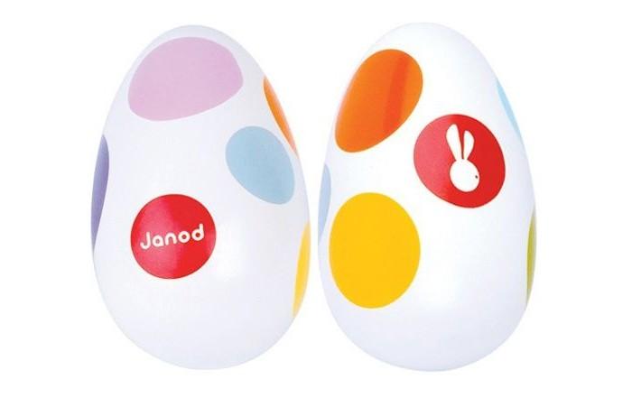 Деревянные игрушки Janod Маракасы овальные