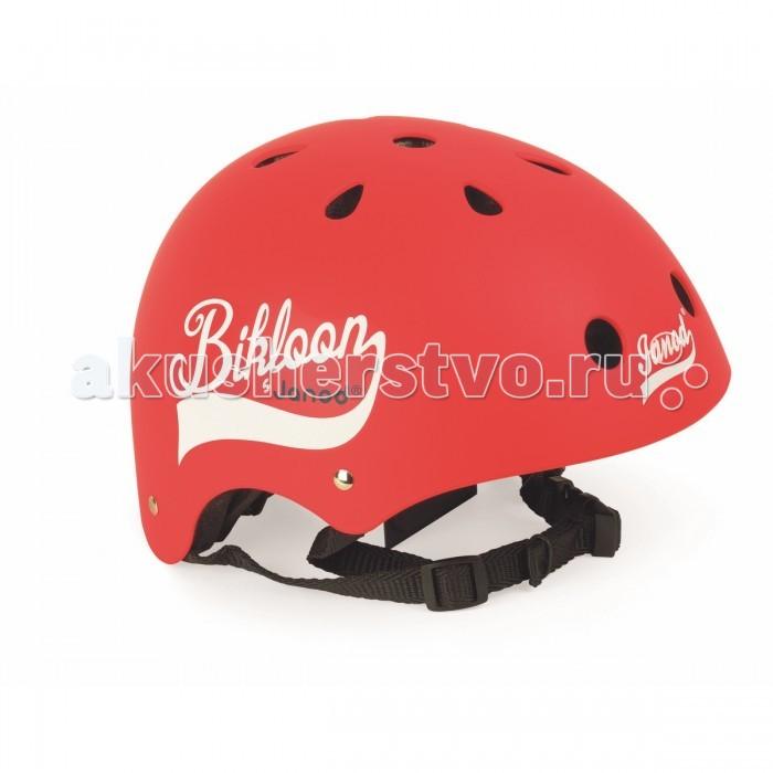 Janod Шлем BikloonШлем BikloonJanod Bikloon - это защитный шлем, который поможет позаботиться о безопасности вашего ребёнка во время поездки на велосипеде, самокате, роликовых коньках или скейте. Он убережёт вашего малыша от нежелательных травм и ушибов.   Janod Bikloon соответствует всем требованиям безопасности во время активного отдыха. На шлеме имеются вентиляционные отверстия, а так же его можно отрегулировать по размеру головы с помощью ремешка.  Особенности:  Предназначен для детей от 3-х лет Наличие вентиляционных отверстий Возможность регулировки под размер головы<br>