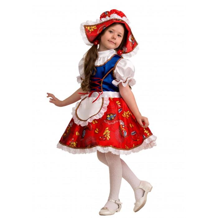 Картинка для Карнавальные костюмы Jeanees Карнавальный костюм Красная шапочка сказочная