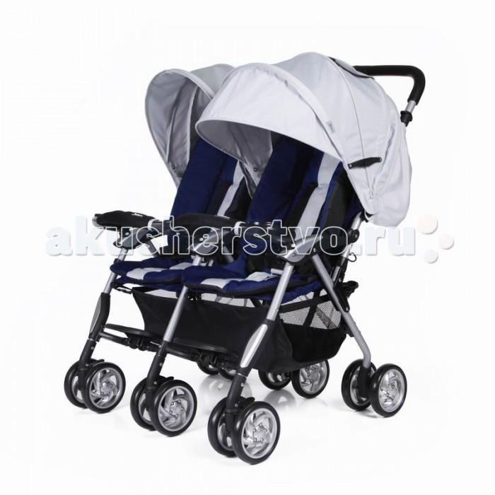 Детские коляски , Коляски для двойни и погодок Jetem Коляска для двойни Elegant Twin арт: 16745 -  Коляски для двойни и погодок