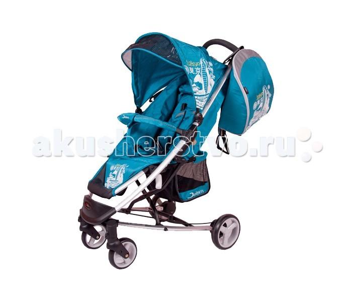 Прогулочная коляска Jetem TokyoTokyoПрогулочная коляска Jetem Tokyo – легкая и стильная городская коляска. Она прекрасно подходит для затяжных летних прогулок. Плавный ход и продуманная эргономика – главные преимущества данной модели.  Спинка опускается бесшумно с помощью ремня и может принимать горизонтальное положение, что вкупе с регулируемой подножкой делает коляску подходящей для сна. Главный узел расположен над передними колесами, что спасает малыша от тряски. Сплошная ручка в форме дуги позволяет управлять одной рукой.  Особенности:  Широкое сидение.  Хорошая амортизация, плавный ход.  Корзина для вещей.  Спинка опускается до положения лежа.  Регулируемая подножка.  Регулируемый козырек от солнца.  Задние колеса со стояночным тормозом.  Вес коляски 8,7 кг.  Размеры в разложенном виде Ш*Д*В 59х86х103 см.  Размеры в сложенном виде Ш*Д*В 61х86х39 см.  В комплекте: сумка-рюкзак, пеленальный матрасик, дождевик, накидка на ноги.<br>