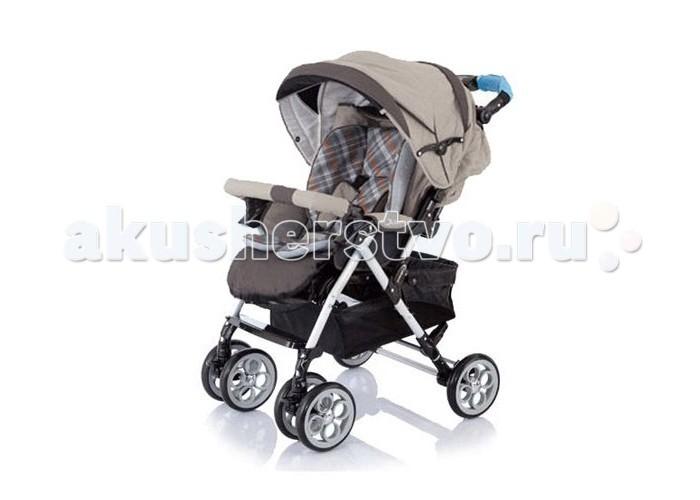 Прогулочная коляска Jetem Clover S-802Clover S-802Jetem Clover (S-802  - это всесезонная четырехколесная прогулочная коляска с перекидной ручкой для малышей с 6-ти месяцев до 3-х лет (до 18 кг).  В комплекте: теплая накидка на ножки дождевик  Особенности:  коляска рассчитана на детей весом до 18 кг наклон спинки регулируется в 3-х положениях, в том числе опускается в полностью горизонтальное положение - для сна (~170°) легко моющаяся водоотталкивающая ткань со светоотражателями - для безопасного передвижения с коляской в темное время суток перекидная ручка позволяет везти ребенка как лицом к дороге, так и лицом к себе. Ручка регулируется по высоте под рост родителей есть амортизаторы алюминиевое шасси, с элементами прочного, морозостойкого пластика выдвижная подножка двойные плавающие передние колеса, при необходимости их можно зафиксировать широкое и комфортное сиденье, в котором не будет тесно даже крупному малышу в зимней одежде на задней оси расположен ножной стояночный тормоз пятиточечные ремни безопасности с мягкими плечевыми накладками съемный бампер (поручень перед ребенком) с мягкой приятной на ощупь обивкой объемный капюшон хорошо закрывает ребенка от солнца, ветра и осадков, опускается практически до бампера (причем не только в положении сидя, но и при полностью опущеной спинке). В верхней части капюшоне есть сетчатое окошко для наблюдения за ребенком  Размеры и вес:  Ширина шасси - 61 см Длина спального места - 85-87 см Ширина сиденья ~ 38 см Диаметр колес - 20 см<br>