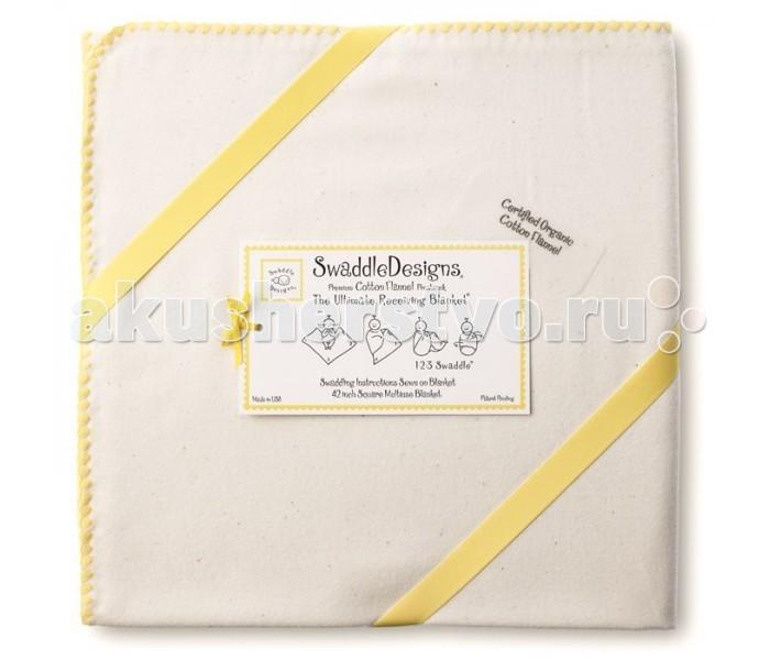 Постельные принадлежности , Пеленки SwaddleDesigns Organic Receiving Blanket арт: 13951 -  Пеленки