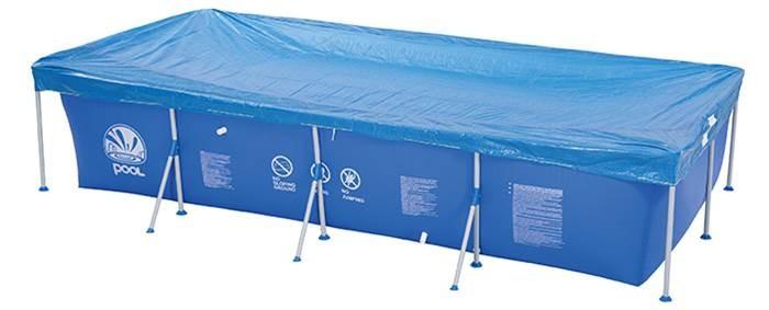 Бассейны Jilong Чехол на бассейн Pool Cover 258х179 см чехол для бассейна jilong giant цвет синий 366 х 193 х 56 см