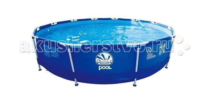 Бассейн Jilong Round Stell Frame Pools 360х76 см с фильтр-насосом