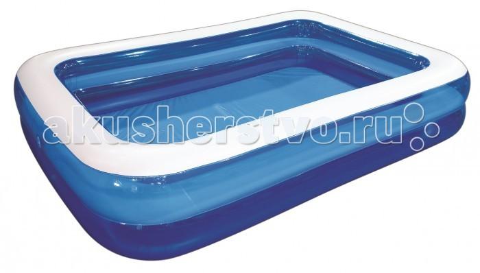 Купить Бассейны, Бассейн Jilong семейный Giant Rectangular Pool 2-ring 262x175x50 см