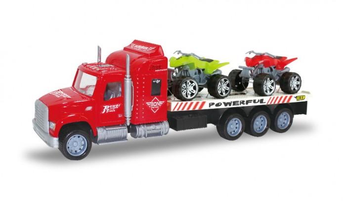 Машины, Jinjia Toys Автовоз инерционный с 2-мя мотоциклами  - купить со скидкой