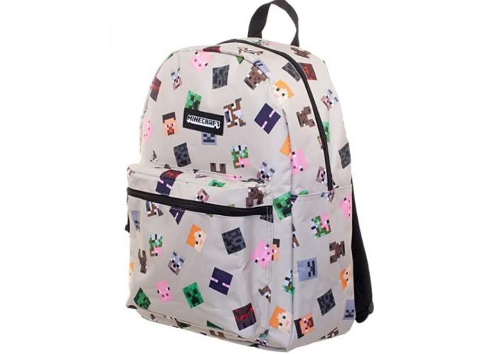 Школьные рюкзаки Jinx Рюкзак Minecraft Heads