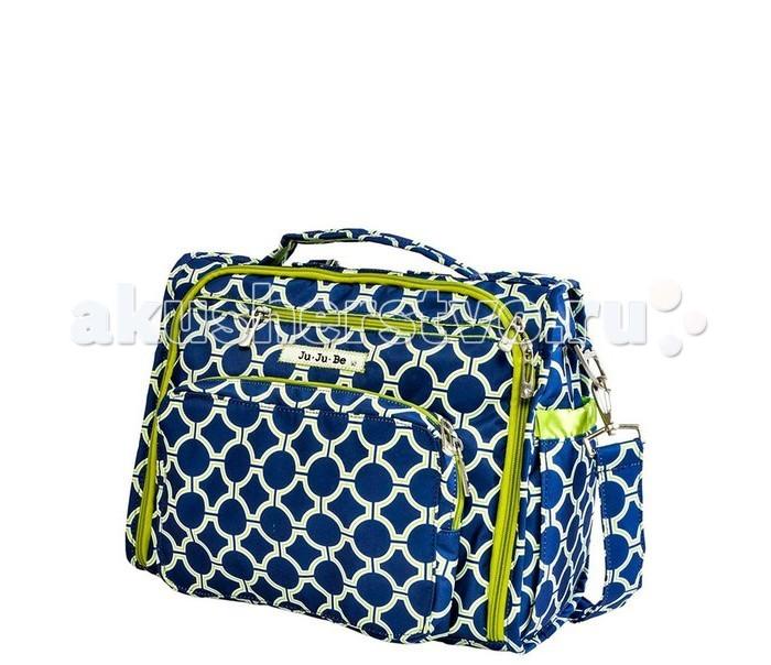 Ju-Ju-Be Сумка-рюкзак для мамы B.F.F.Сумка-рюкзак для мамы B.F.F.Ju-Ju-Be B.F.F. - уникальная, удобная и вместительная сумка для коляски, которую можно носить обычную сумку и рюкзак. Сумка BFF подстраивается под Вас: носите ее в руке (удобная мягкая ручка), на плече (удобный ремень, принимает форму плеча и не спадает), на спине, как рюкзак (специальные мягкие ремни в комплекте) или повесьте на коляску (крепления в комплект не входят).  Замечательная мама и четырехкратная чемпионка России, семикратная чемпионка Европы, двукратная чемпионка мира и двукратный призер Олимпийских игр Ирина Слуцкая со своей Ju-Ju-Be B.F.F. SWEET HEARTS.  Функциональные особенности сумки Ju-Ju-Be BFF:  Внутри сумки:  Огромное основное отделение с удлиненными молниями по бокам, позволяющими открыть сумку до основания  4 кармана с легким доступом 2 кармана на молнии для мелочей Большой карман на молнии для документов или других важных вещей  Окошки для фото  Снаружи сумки: Мамино отделение с 3 кармашками, отделением для очков, резинкой-держателем для ключей (позволяет открыть дверь не отсоединяя ключи и не снимая сумку с плеча) Небольшой карман на молнии над маминым отделением с мягко подкладкой для телефона, фотоаппарата, плеера и т.п.  Отделение с мягким и удобным пеленальным матрасиком  2 термокармана для бутылочек по бокам Грязеотталкивающая пропитка, мягкая яркая подкладка с антимикробным покрытием обеспечивают чистоту Можно стирать в стиральной машине Размер сумки (дхвхш): 36 см x 30 см x 16 см Размер матрасика (дхш): 56 см х 31 см<br>
